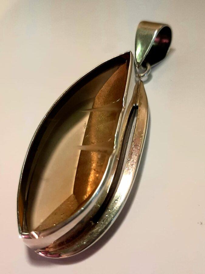 Citrīns. 5 x 2.4 cm
